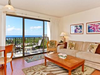 Four Paddle #1606 - Secure one-bedroom with full kitchen, parking & ocean/sunset views! - Waikiki vacation rentals