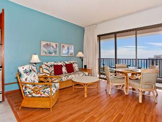 Waikiki Banyan #3810 T-2 - Sweeping ocean views from penthouse-level one-bedroom with AC! Sleeps 5. - Oahu vacation rentals