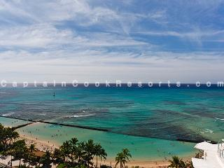 Waikiki Beach Tower #1903 - Luxury, 2/2 remodeled condo with beautiful ocean views - sleeps 6! - Waikiki vacation rentals