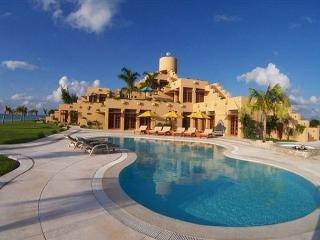 23 Acre Beachfront Estate. 6 BR Villa. Private Pool & Tennis Court. Secluded! - Cozumel vacation rentals