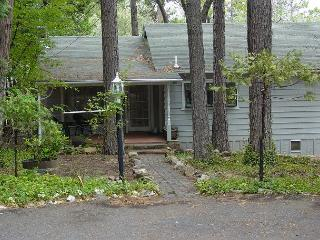 Darling vintage cabin- full kitchen, deck, BBQ, handicap access - Twain Harte vacation rentals