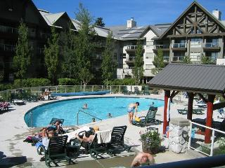 Luxury 2 bdm Ski in, ski out condo hot tubs, pool, view, free internet - Whistler vacation rentals