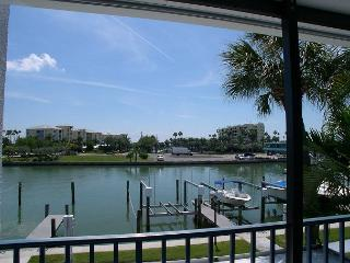 Madeira Beach Yacht  Club 275E Private porch over looking the bay - Saint Petersburg vacation rentals