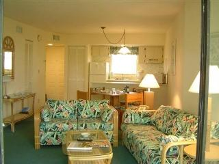 Colorful Living Area - Anglers Cove A302 - Marco Island - rentals