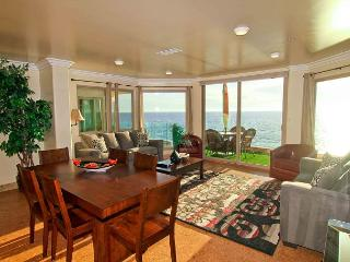 Beach Front Vacation Home with Rooftop Deck P118-1 - Oceanside vacation rentals