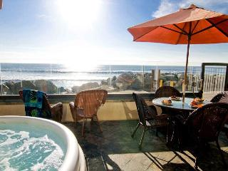 Beach Front Vacation Rental on the Sand P118-2 - Oceanside vacation rentals