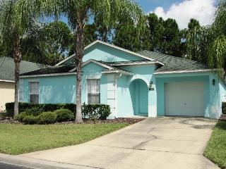 Brightly colored house on palm-tree lined streets - RD344 - Davenport vacation rentals