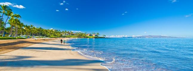 Famous Wailea Beach - Beach access is steps from the A201 Royal Ilima Front Door - Royal Ilima A201 Wailea Beach Villas - Wailea - rentals