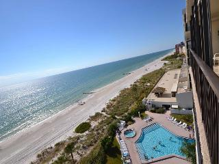 Ocean Sands 908  Updated corner condo with Gulf front balcony & free WiFi! - Saint Petersburg vacation rentals