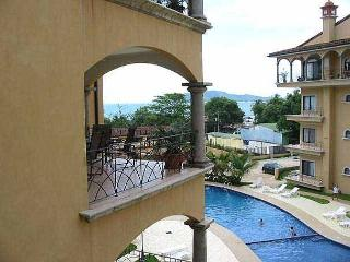 Great hacienda style condo- a/c, pool, across the street from the beach - Tamarindo vacation rentals