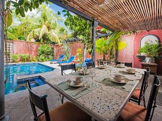 Charming villa- across from beach, customer kitchen, private pool, gas grill - Tamarindo vacation rentals