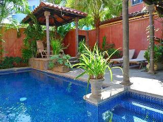 Comfortable luxury villa- across from beach, kitchen, cable, internet, piano - Tamarindo vacation rentals
