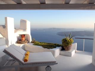 Santorini Villa Rental with Car and Incredible Views - Villa Sky - Imerovigli vacation rentals