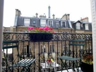 Balcony and Eiffel Tower - Paris vacation rentals