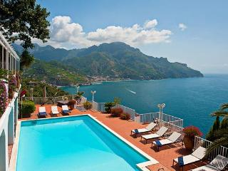 Perched over the Mediterranean Sea, halfway between Amalfi and Ravello. BRV CAR - Amalfi Coast vacation rentals