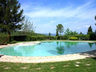 Traditional farmhouse with luxurious antique furnishings. HII MON - Umbria vacation rentals