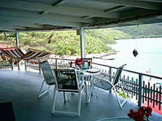Unique view of North Sound and the Caribbean sea- a great 2-story villa!	 VG VVA - British Virgin Islands vacation rentals