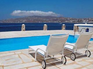 Waterfront villa, across the bay from Mykonos Town. LIV CLE - Mykonos vacation rentals