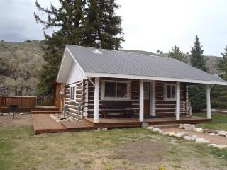 Beautiful 2 BR Cabin on the River at Three Rivers Resort in Almont (#6) - Almont vacation rentals