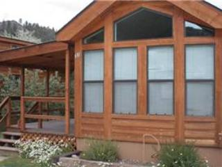"Cozy ""Modular"" Style 1 BR with Sleeping Loft Cabin at Three Rivers Resort in Almont (#38) - Image 1 - Almont - rentals"