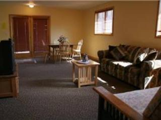 Spacious 2 BR Apartment above Vacation Home at Three Rivers Resort in Almont (149 Loft) - Almont vacation rentals