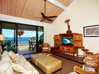 Ocean Front Prime 2 Bedroom Deluxe Condo Unit 02 - Kahana vacation rentals