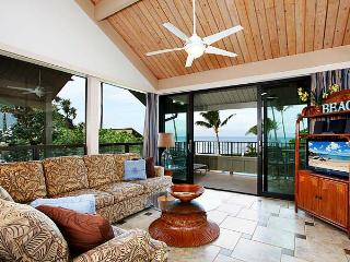 Ocean Front 2 Bedroom Luxury Condo Unit 08 - Kahana vacation rentals