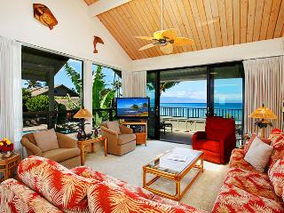 Ocean Front Prime 2 Bedroom Deluxe Condo Unit 20 - Kahana vacation rentals