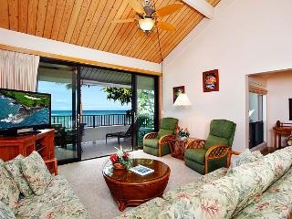 Ocean Front Prime 2 Bedroom Deluxe Condo Unit 27 - Kahana vacation rentals