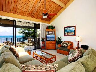 Ocean Front 2 Bedroom Deluxe Condo Unit 38 - Kahana vacation rentals