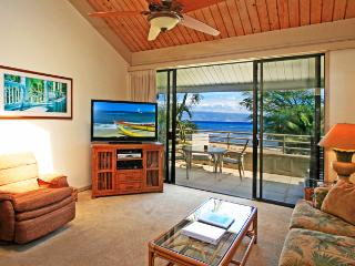 Ocean Front 2 Bedroom Deluxe Condo Unit 40 - Kahana vacation rentals