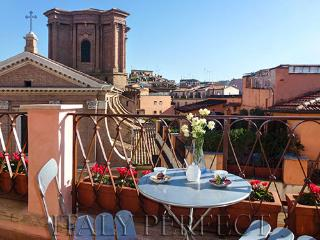 Spanish Steps Penthouse with Terrace-View-Angelina - Rome vacation rentals