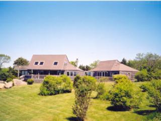 1242 - MAGICAL & TRANQUIL HOME OVERLOOKNG THE OCEAN. ADD A BEACH AND WHAT COULD BE BETTER?! - Image 1 - Chilmark - rentals