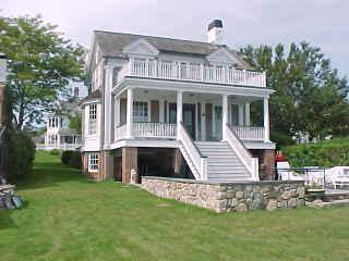1283 - READ THE MORNING PAPER ON THE DECK NEAR WATER'S EDGE,TAKE A QUICK SAIL,HAVE A COOL DRINK. AH SUMMER! - Image 1 - Edgartown - rentals