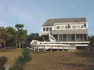 724 - CHAPPAQUIDDICK HOME WITH EXPANSIVE VIEWS OF KATAMA BAY AND A SALT WATER MARSH - Image 1 - Chappaquiddick - rentals