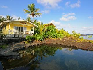 Hula Cove - Romantic Cottage on Kapoho Tidepools - Big Island Hawaii vacation rentals