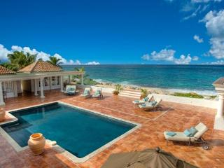 Set on Baie Rouge beach with sweeping views- minutes from Marigot by car. C WAR - Saint Martin-Sint Maarten vacation rentals