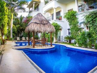 Beautiful 1 Bedroom Property with Fantastic Pool by 5th Avenue and Beaches - Playa del Carmen vacation rentals