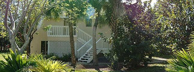 Toucan House sits on a large corner lot - Toucan House in Sanibel Bayous - Sanibel Island - rentals