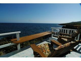 The Blue House, Roatan Vacation Rental porch - Casa Azul , The Blue House, 60 feet from the sea - Flowers Bay - rentals