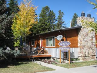 Blue Cloud House - front view - Blue Cloud House~ Enjoy a Montana Summer~ Book Now - West Yellowstone - rentals