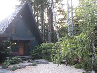 Westgate-Japanese A-Frame - Ocean Views, Hot Tub, Large Deck, Privacy - North Coast vacation rentals