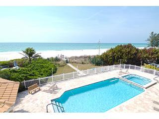 LaPlage Pool and Jacuzzi - LaPlage #2 Luxury Four Bedroom Beachfront - Holmes Beach - rentals