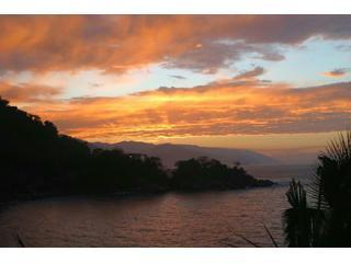 Sunset from the Balcony - Mexicolor Sunsets Where Sierra Madres Meet the Sea - Puerto Vallarta - rentals