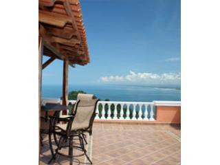 PHS master balcony - Pacifico Colonial Luxury Condo Penthouse South - Manuel Antonio - rentals
