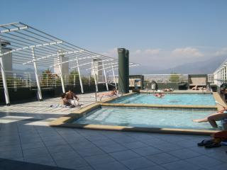 Pool open from November till April - Charming Luxury 2br 2bh apartment Santiago Chile - Santiago - rentals