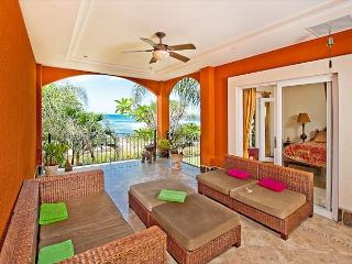 Beautiful oceanview condo- custom kitchen, cable, shared pool, a/c - Tamarindo vacation rentals