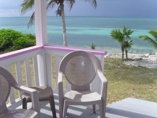 Sea view from Front Porch - Spanish Wells Russell Island Pink Hibiscus Cottage - Spanish Wells - rentals