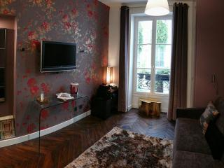 Central, luxury designer apartment. Free wi-fi! - 3rd Arrondissement Temple vacation rentals