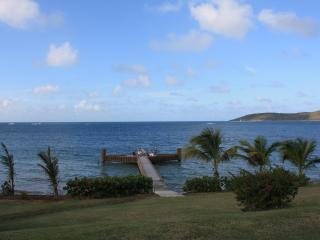 Beachfront house dock pool privacy luxury - Saint Croix vacation rentals